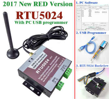 Free shipping 2017 New RTU5024 GSM Gate Opener Relay Switch Remote Access Control Wireless Sliding gate Opener By Free Call - DISCOUNT ITEM  0% OFF All Category