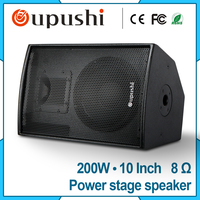 Dual 10 Inch Speaker 250W Karaoke Floor Standing Speaker F10