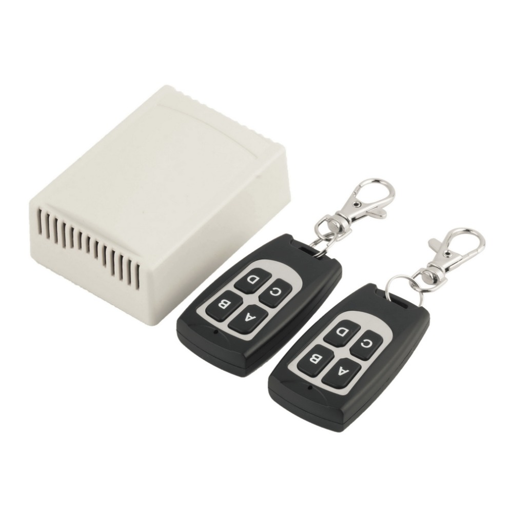 Wireless 12V 4CH 200M Remote Control Relay Switch Transceiver + Receiver for Annunciator of Family Car Motorcycle Anti-Theft Acc сигнализатор akara annunciator hb 34 190 мм