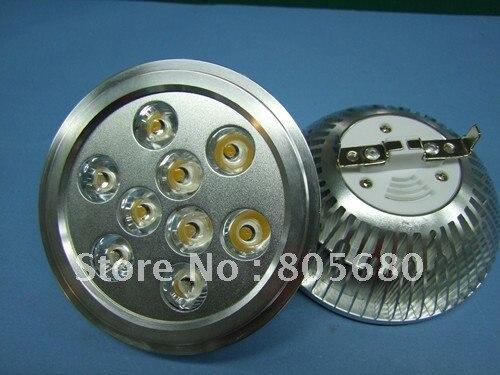 free shipping low price free shipping 40pcs 9w AR111 led spot/ES111 led light spot 12v or 220v|ar111 led|led light|led ar111 - title=