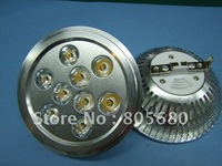 free shipping low price free shipping 40pcs 9w AR111 led spot/ES111 led light spot 12v or 220v