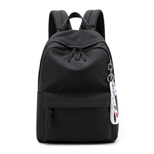 цена на 2019 Waterproof Nylon Women Backpack Female Large capacity high schoolbag Korean Simple girl Shoulder Bags Travel Bag Mochila