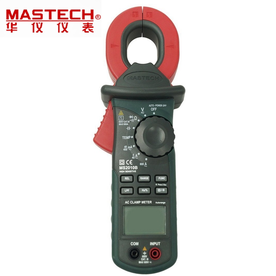 Electrical Leakage Tester : Mastech ms b digital lcd electrical professional