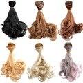 [Wamami] 1 ШТ. Парик BJD Куклы DIY высокотемпературный Провод прямо Вьющиеся Волосы Парики
