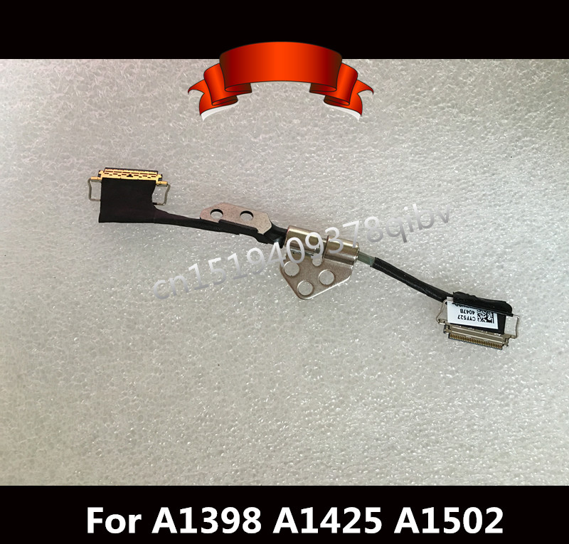 Tested 15 For Macbook Pro Retina A1398 A1425 A1502 LCD LVDS Display Cable With LCD hinge 2012 2013 2014 2015 X 5PCS image