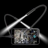 Wasserdichte Handy Endoskop 300000 Pixel Cmos-kamera 15 Mt 6 LED USB Endoskop Handkamera Digitale Inspektionskamera