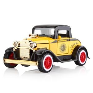 Image 3 - DODOELEPHANT 1:36 Alloy Ziehen Auto Spielzeug Diecast Modell Spielzeug Sound licht Brinquedos Auto Fahrzeug Spielzeug Für Jungen Kinder Geschenk