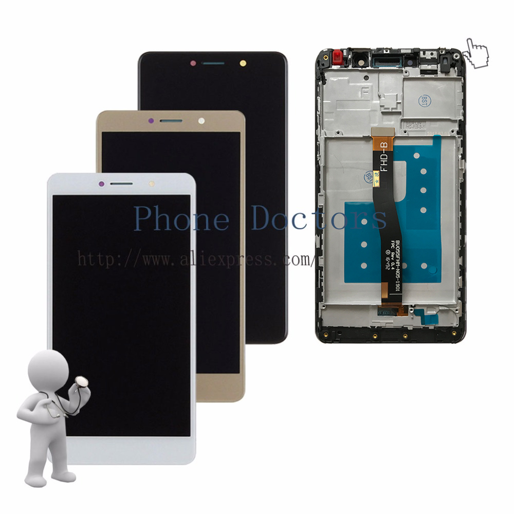 5.5 Full LCD Display + Touch Screen Digitizer Assembly With Frame For Huawei GR5 2017 BLL-L21 BLL-L22 ; New ; 100% Tested5.5 Full LCD Display + Touch Screen Digitizer Assembly With Frame For Huawei GR5 2017 BLL-L21 BLL-L22 ; New ; 100% Tested