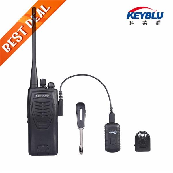 Two Way Radio Bluetooth Headset For Kenwood PTT Speaker Microphone Motorola Earpiece PC In Walkie Talkie From Cellphones
