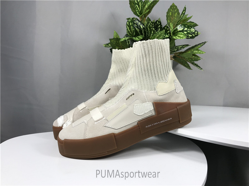 Original HAN KJBENHAVN X PUMA Trainers Leather Boots Women s and Man s  Sneakers Bow Badminton Shoes Size35 e41941a5b
