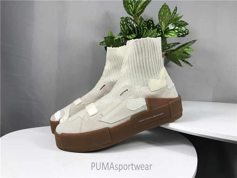 9251fd0e2490 Original HAN KJBENHAVN X PUMA Trainers Leather Boots Women s and Man s  Sneakers Bow Badminton Shoes Size35