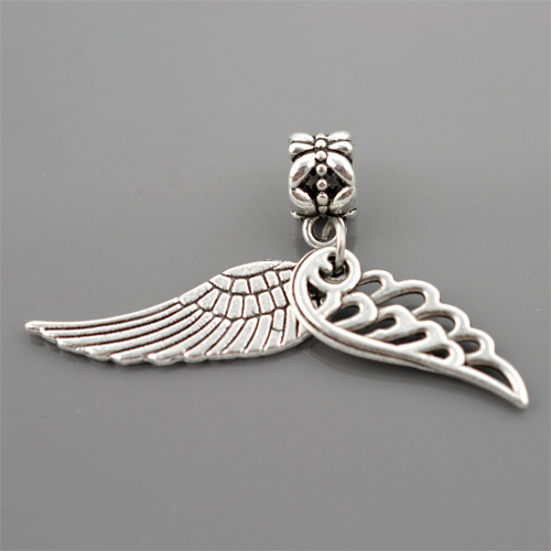 colgantes pulsera pandora alas de ángel