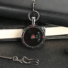 Высококачественные кварцевые карманные часы в стиле ретро с