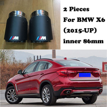 M performance Carbon Fiber Akrapovic Tips Car Exhaust Pipe For BMW E90