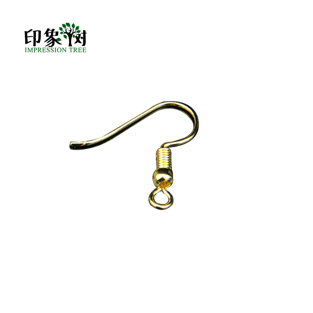 95Pcs/LOT Spring Earring Hook Silver Rose Gold Bronze Rhodium Plated Hook Ear Wires Hooks Earrings DIY Jewelry Findings 1132