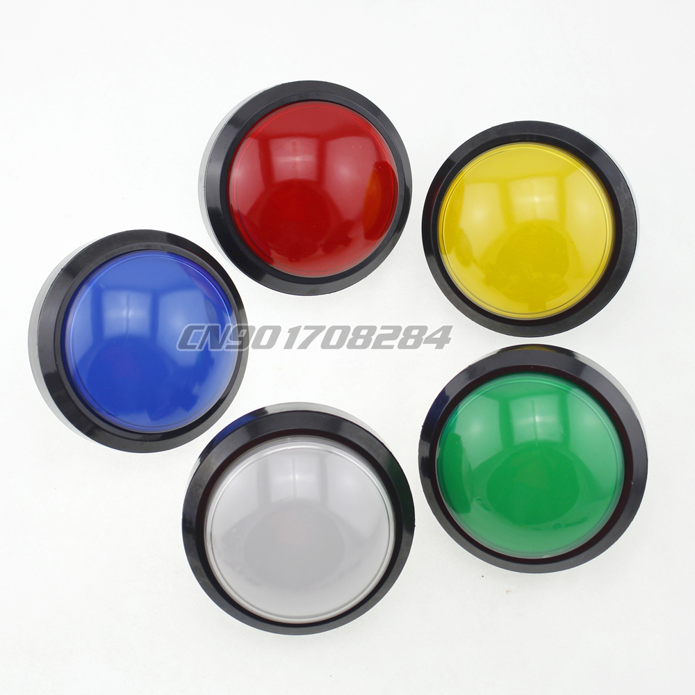 Us 8 49 15 Off 1 Pieces Large 100mm Big Led Light Push Buttons For Arcade Machine Pop N Music