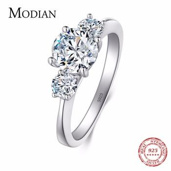 9c6e3d5f2f80 2018 nuevo 2Ct 925 anillo de plata de ley para mujer diez corazones CZ  anillo de boda marca O anillos anel comentado de cristal venta al por mayor  de la ...