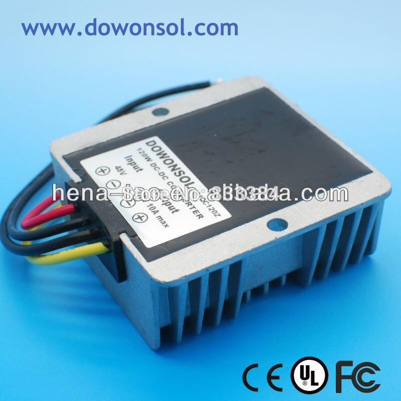 120W 10A DC DC Converter 48V to 12V for e-bike /e-tricycle dc dc converter 12v to 24v 5amax 120w for cars non isolated