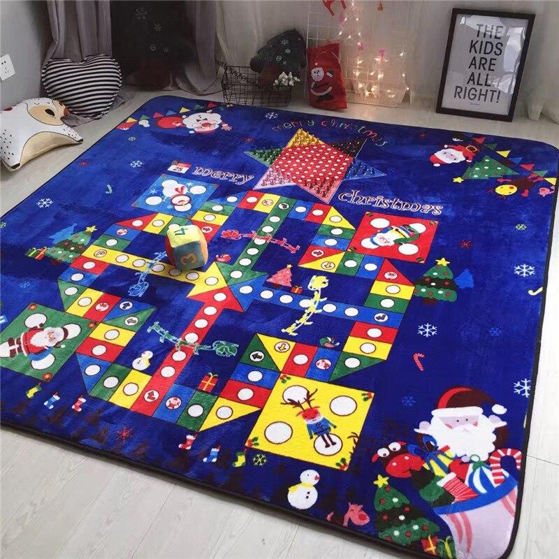Grand tapis d'échecs volants tapis de dames jeu heureux match fitness noël et famille et amis ensemble meilleur cadeau de noël
