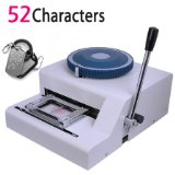 Guaranteed 100% new 52Characters manual Metal dog tag embosser embossing machine ,Steel Embossing Machine dog tag press machine manual 52 d characters for steel metal embossing in dog tag