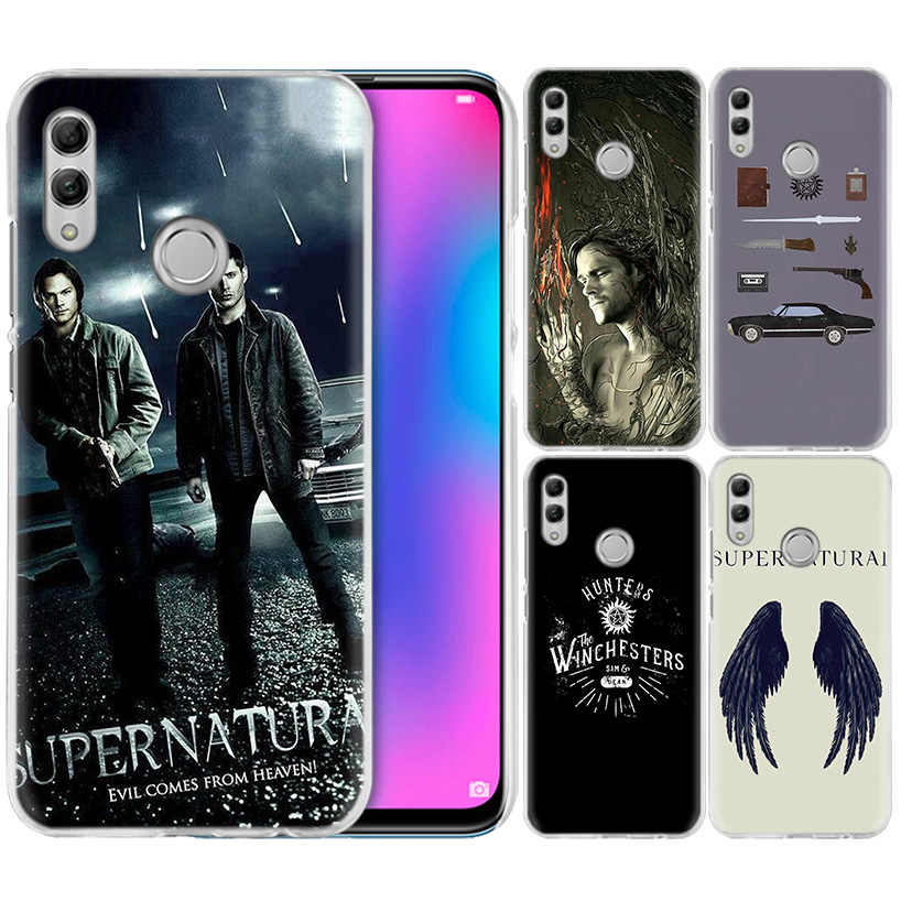 TV Supernatural Case for Huawei Honor 8X Y9 9 10 Lite Play 8C 8S 8A Pro V20 20i 10i Y6 Y7 2019 Hard PC Fundas Coque Phone Cover