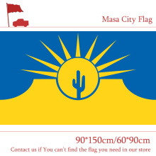 Free shipping Mesa City Flag Arizona Of State 90*150cm 60*90cm US 3x5ft Custom High-quality Banners For Campaign Vote