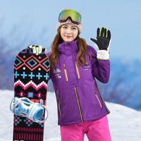 Winter Women Ski Jacket Coat Waterproof Warm Sportswear Ladies Snowboard Clothing Outdoor Sports Sking Girls Winter