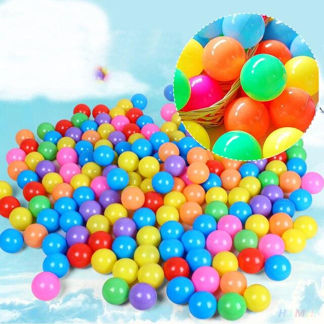 50 Unids/set Colorido Pokeball Bolas Pozo De Aire Suave lleno de Fiesta Al Aire Libre Para Los Niños Los Niños