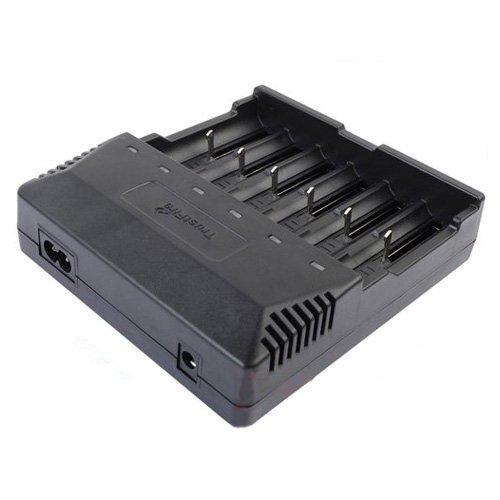 Trustfire tr-012 digicharger universal nitecore cargador de batería inteligente con 6 ranura para 18650/18350/16340/14500/aa/aaa