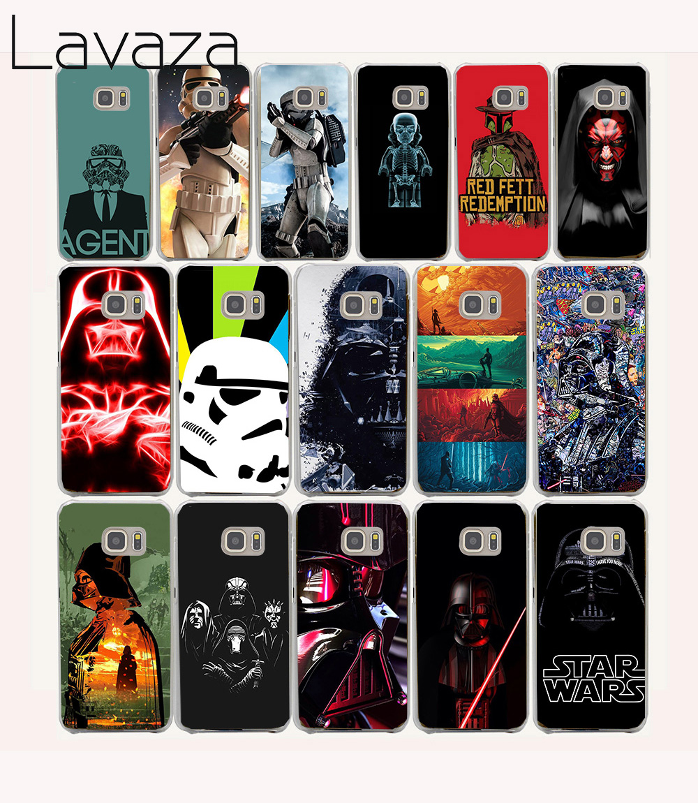 Lavaza 57O Star Wars All Characters Funny Hard coque Case for Samsung Galaxy S6 cover J5 2015 2016 J510 J520 edge plus
