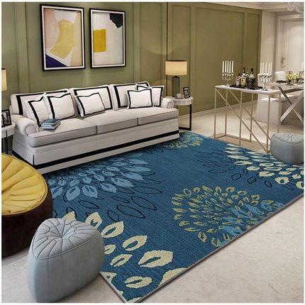 Grand tapis de taille nordique contracté et Design géométrique contemporain impression 3D coussin antidérapant cuisine tapis décorations