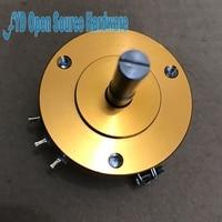 WDD35D 4 Precision Conductive Plastic Potentiometer Angular Displacement Sensor 1K 2K 5K 10K Linear 0 1