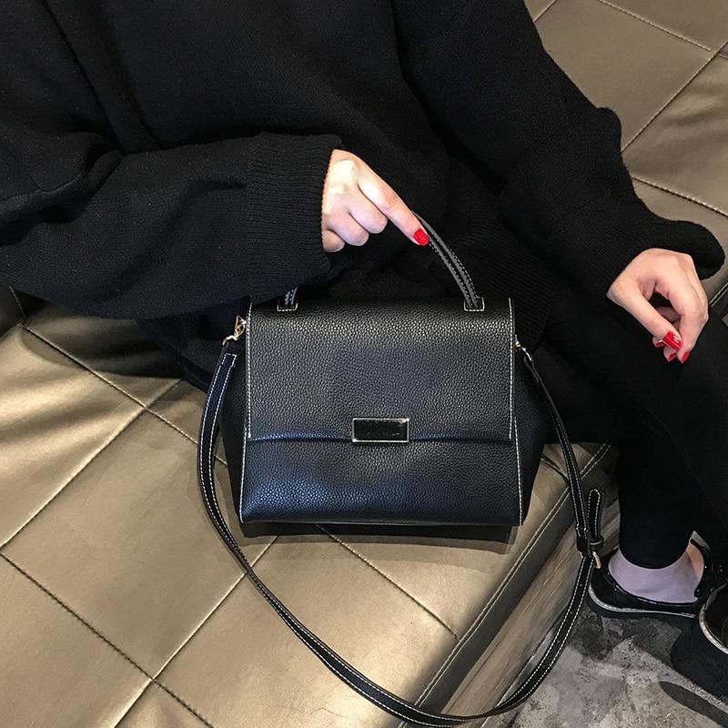 2018 New Top-handle Bags Famous Designer Brand Ladies Fashion Bag Luxury Handbag Women Genuine Leather kajie fashion genuine leather ladies handbag luxury handbags women bags designer famous brand cowhide top handle bag female