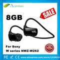 2017 nueva venta al por mayor --- 8 gb venta caliente reproductor de música auriculares deportes reproductor de mp3 walkman de sony w series nwz-w262 con caja de regalo