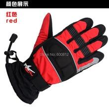 Мотоцикл перчатки рыцари гонки перчатки мотоцикл перчатки 100% ветер водонепроницаемый держать тёплый черный синий красный размер M L XL
