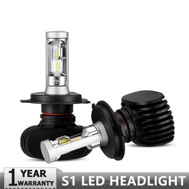 SNCN Led CAR headlight for For Honda City 2015 2016 Plug&Play 2PC 12V/50W 8000LM LED Headlamp Conversion Kit Auto Bulb