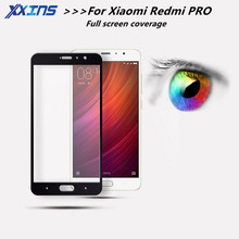 full cover Tempered Glass for Xiaomi Redmi PRO redmiPRO Screen Protective Red mi 5.5 inch GOLD BLACK WHITE smartphone toughened(China)