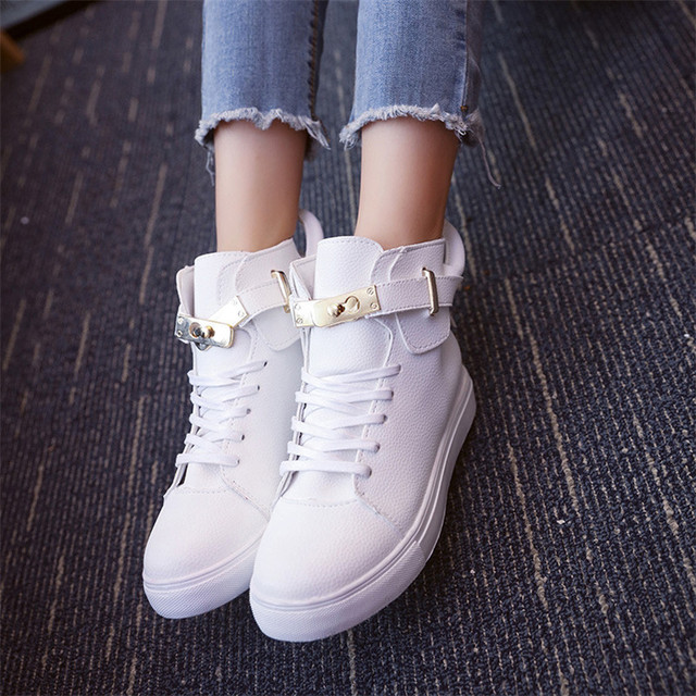 Mrs win 2017 Spring Autumn Wedges Shoes Soft Leather Women Casual Shoes Fashion Breathable Height Platform Shoes
