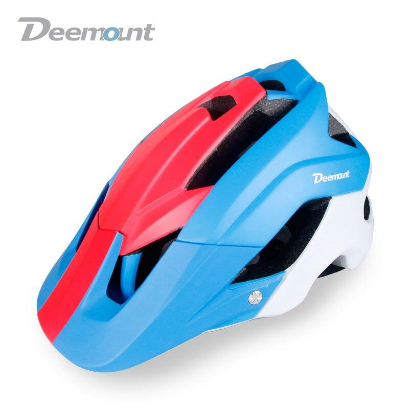 Deemount Intégralement Moulée Vélo Route Casque VTT Sport Vélo Casque Ultra-Léger Professionnel Casque De Vélo 56-62 CM pour ciclismo