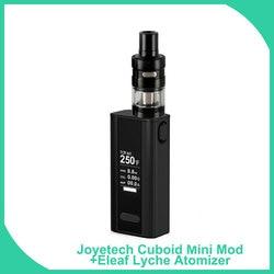 Big verkauf Original Joyetech Quader Mini mit Eleaf Lemo2/Lyche DIY Full Kit 80W 2400mAh Batterie 510 gewinde Vape E-Zigarette