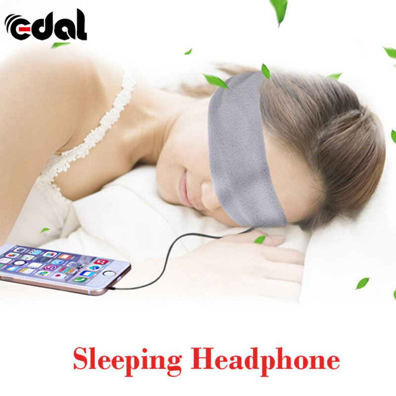 EDAL Washable Anti-noise Sport Running Sleeping Earphones Bundle Music Headband Sleep Mobile phone Headphones for Iphone Samsung