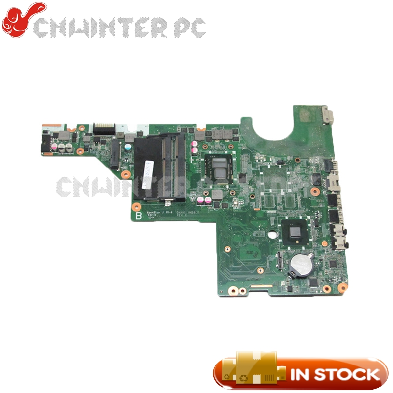 NOKOTION 637583-001 DAAX1JMB8C0 REV:C For HP Pavilion G62 G42 Laptop Motherboard I3-370M CPU UMA DDR3 laptop motherboard for hp g42 g62 series hdmi 592809 001 da0ax2mb6e1 mother board ddr3 100