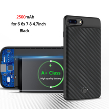 WOJOQ External Backup Battery Charger Case Power Bank Pack With Stand Powerbank Charging Case for iPhone