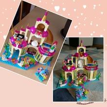 Lepin 25016 Friends Castle Model Building Kits the Undersea Palace Set Blocks Bricks Girl Toys Legoinglys Children Birthday Gift