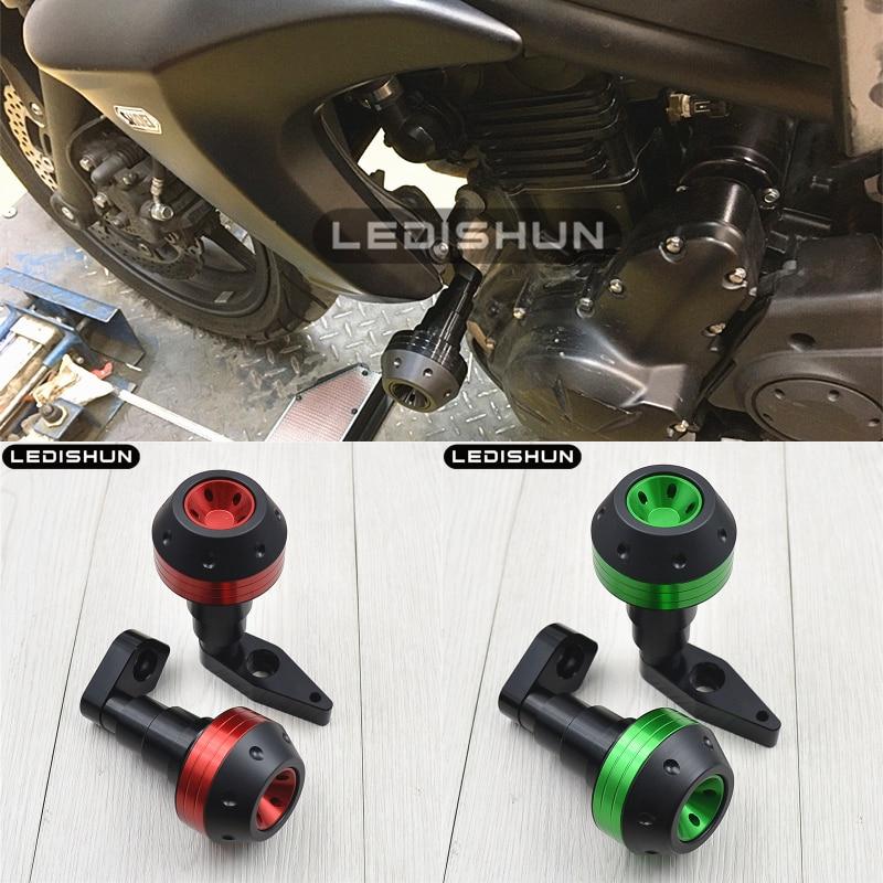 For Kawasaki ER 6N ER6N ER6F ER6 F NINJA650 motorcycle slider frame sliders Engine Protective Guard