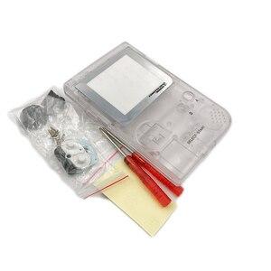 Image 2 - حافظة كاملة الإسكان شل استبدال ل Gameboy جيب لعبة وحدة التحكم ل GBP شل مع أزرار عدة