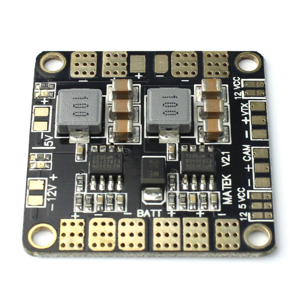 F16892 Mini Power Hub Power Distribution Board PDB med BEC 5V & 12V för FPV 250 ZMR250 Multicopter Quadcopter