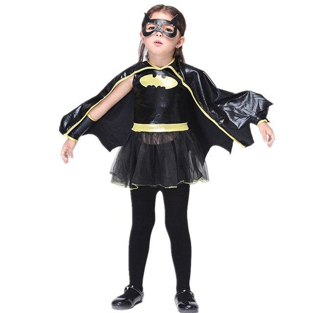 New Batman Dress Costume Kids Halloween Costume For Girls Batman Party Dress Cosplay Costume Performance Dancewear  sc 1 st  AliExpress.com & New Batman Dress Costume Kids Halloween Costume For Girls Batman ...