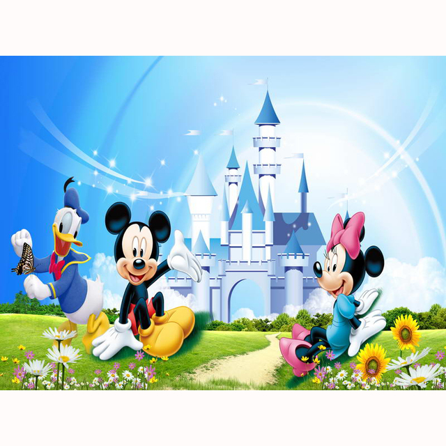 Photography Backdrops theme castle photo background children party Custom banner Photo Studio Background Props