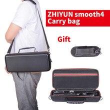 Sac de transport pour zhiyun lisse 4 étanche voyage Portable étui lisse 4 sac à bandoulière matériel en polyuréthane nécessaire accessoires essentiels